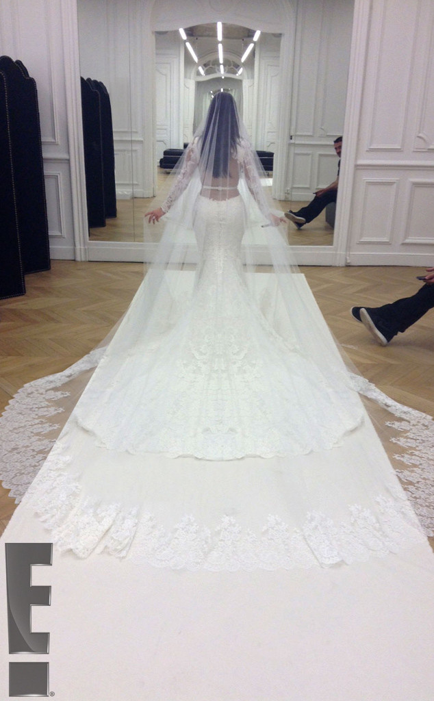 Kim Kardashian final dress fitting