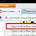 Cara Membuat Open Link In New Tab