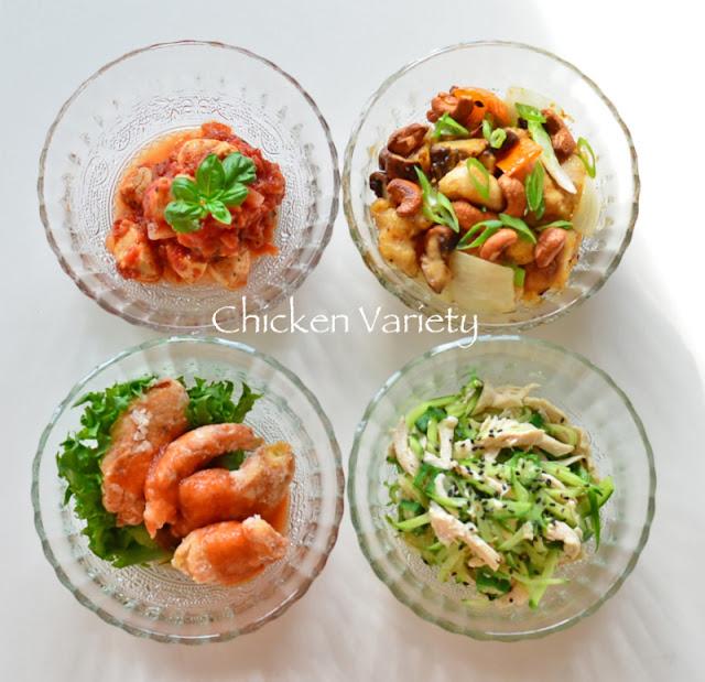 okazu marathon 3 - chicken variety