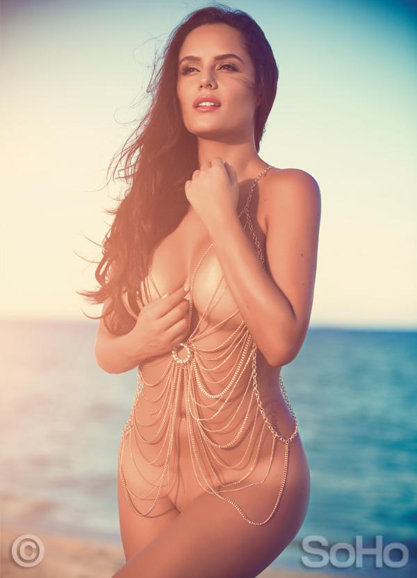 Ana Lucía Domínguez (Desnuda) Actriz Pasión de Gavilanes