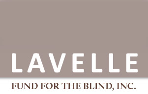 Logo of the Lavelle Fund for the Blind.