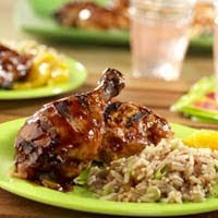 Simply Spicy Grilled Chicken
