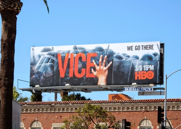 Vice season 3 HBO billboard
