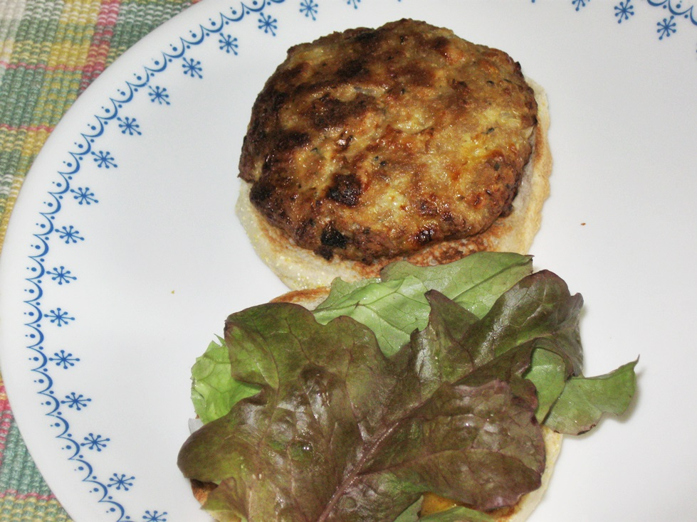 ... Life Gives You Lemons...: Turkey Burgers With Honey Mustard Dressing