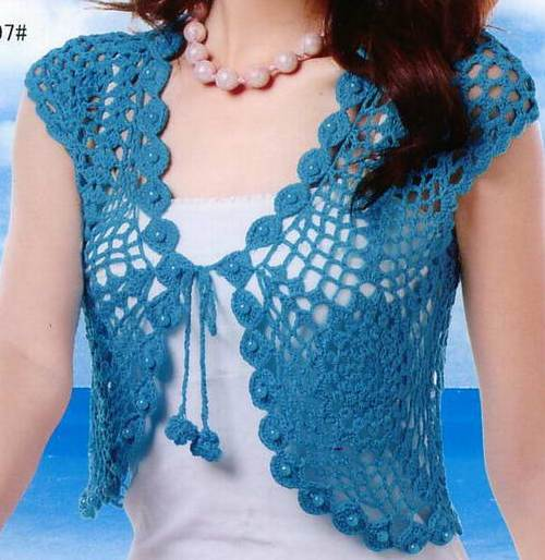 Example Of Knitting Pattern : free knitting pattern: examples of crochet vest 2012