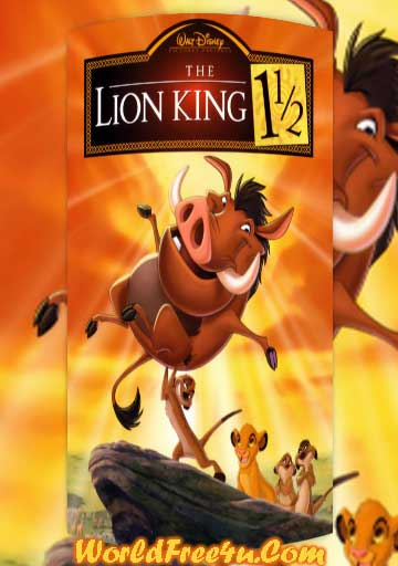 Poster Of The Lion King 3 (2004) In Hindi English Dual Audio 300MB Compressed Small Size Pc Movie Free Download Only At worldfree4u.com