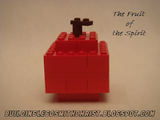 The Fruit of the Spirit, Galations 5:22-23, Christian Legos, Biblical Legos, Lego Fruit