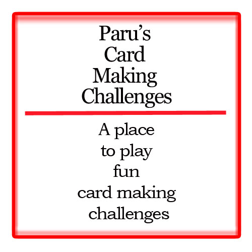Parus Card Making challenge