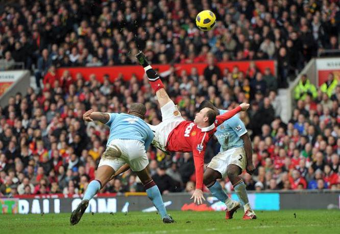 Wayne Rooney Bicycle Kick