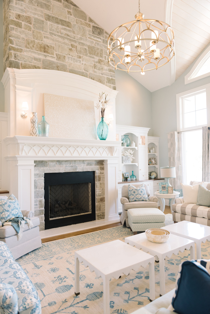 House of turquoise dream home tour day one Light airy paint colors