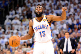 James Harden Trade, OKC thunders, Houston Rockets, Sam Pesti, the beard