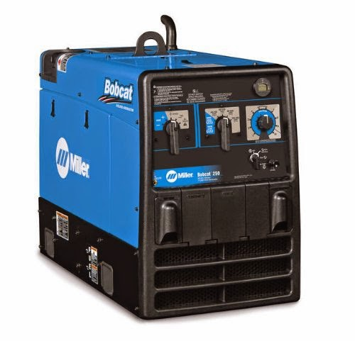 Miller bobcat 250 EFI welder review