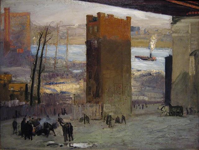 1909 Lone Tenement oil