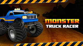 Screenshots of the Monster truck racer: Extreme monster truck driver for Android tablet, phone.