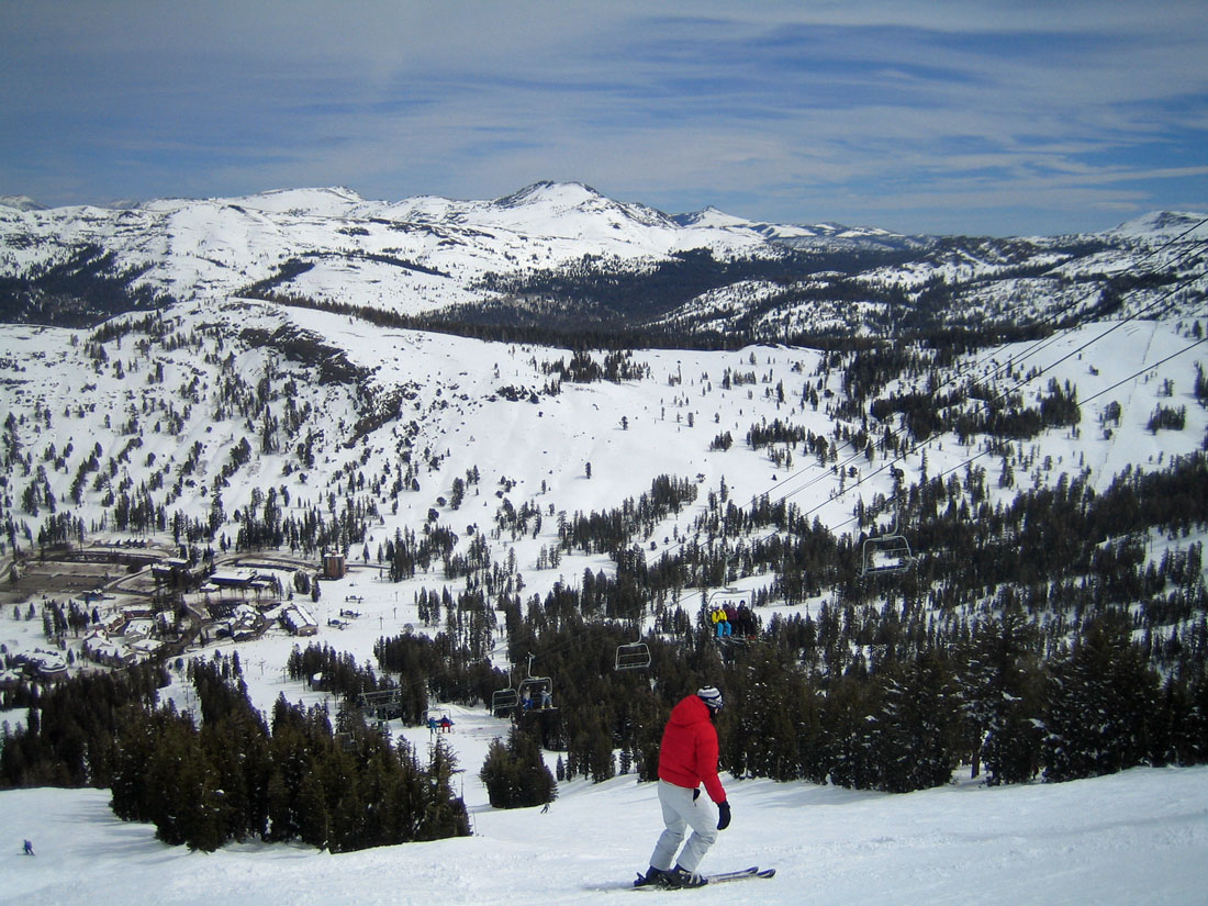 a report from a ski trip