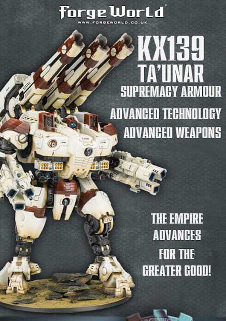 Novedades de Forge World: Tau KX139 Ta'unar Supremacy Armour