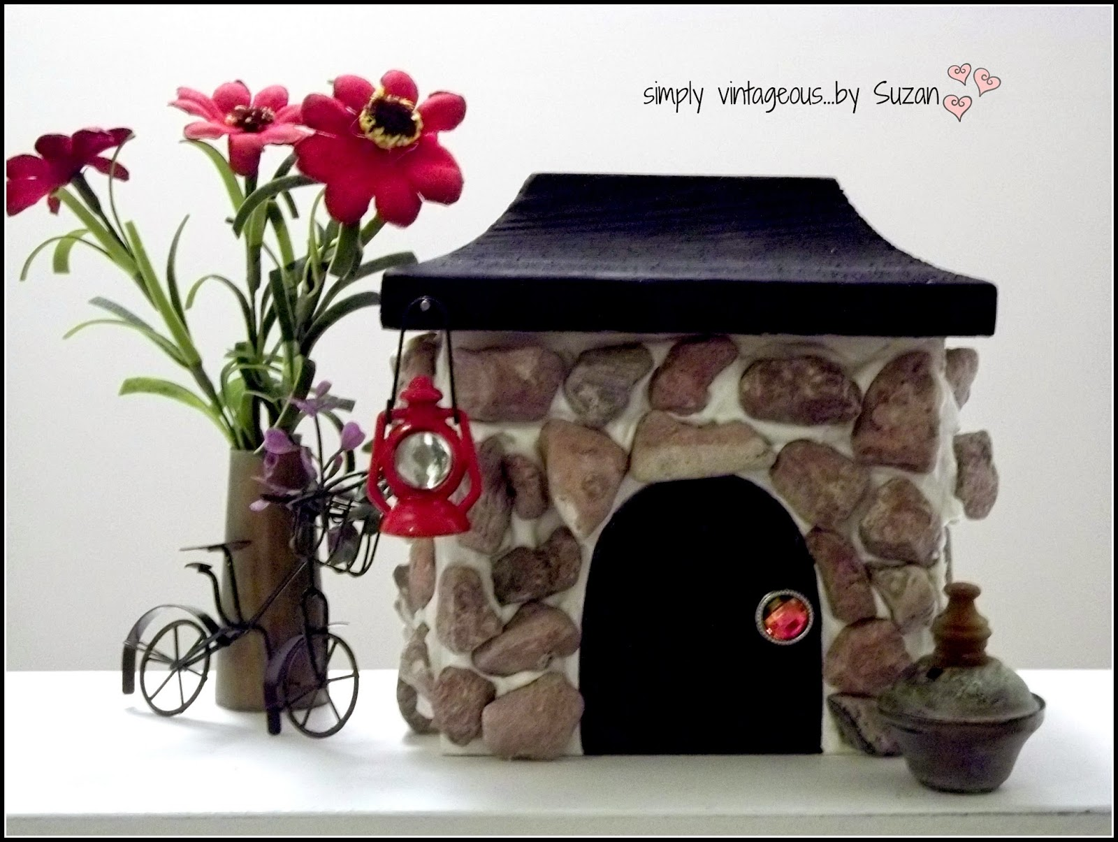 DIY Fairy Stone Cottage