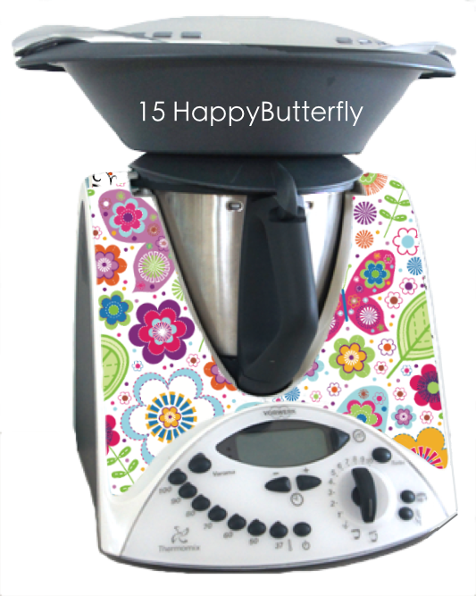 Autocollant pour for thermomix bimby instruction for Autocollant mural