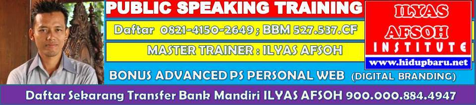 Public Speaking Solo 0821-4150-2649 [TELKOMSEL]