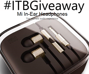 Win Mi In-Ear Headphones ITBGiveaway