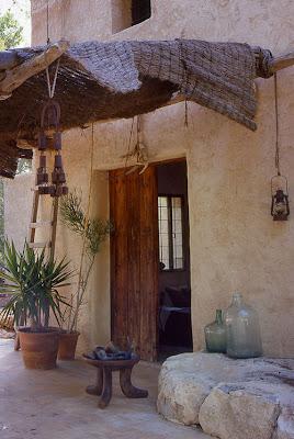 villa rústica moderna en Ibiza
