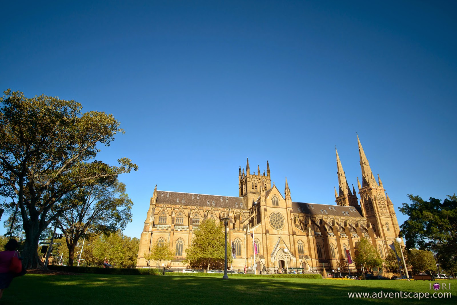 Philip Avellana, Australian Landscape Photographer, NSW, New South Wales, Sydney, Australia, St Mary's Cathedral, church, comparison, review, glass vs resin, filters, Lee Filters, soft ND, ND, neutral density, graduated neutral density, GND, grad nd, resin, 0.9, 3 stops