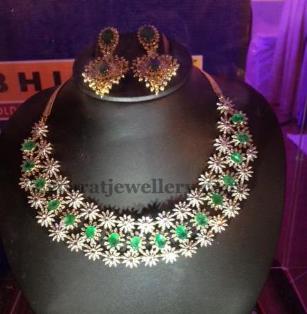 Bhima Jewellers Bridal Necklace