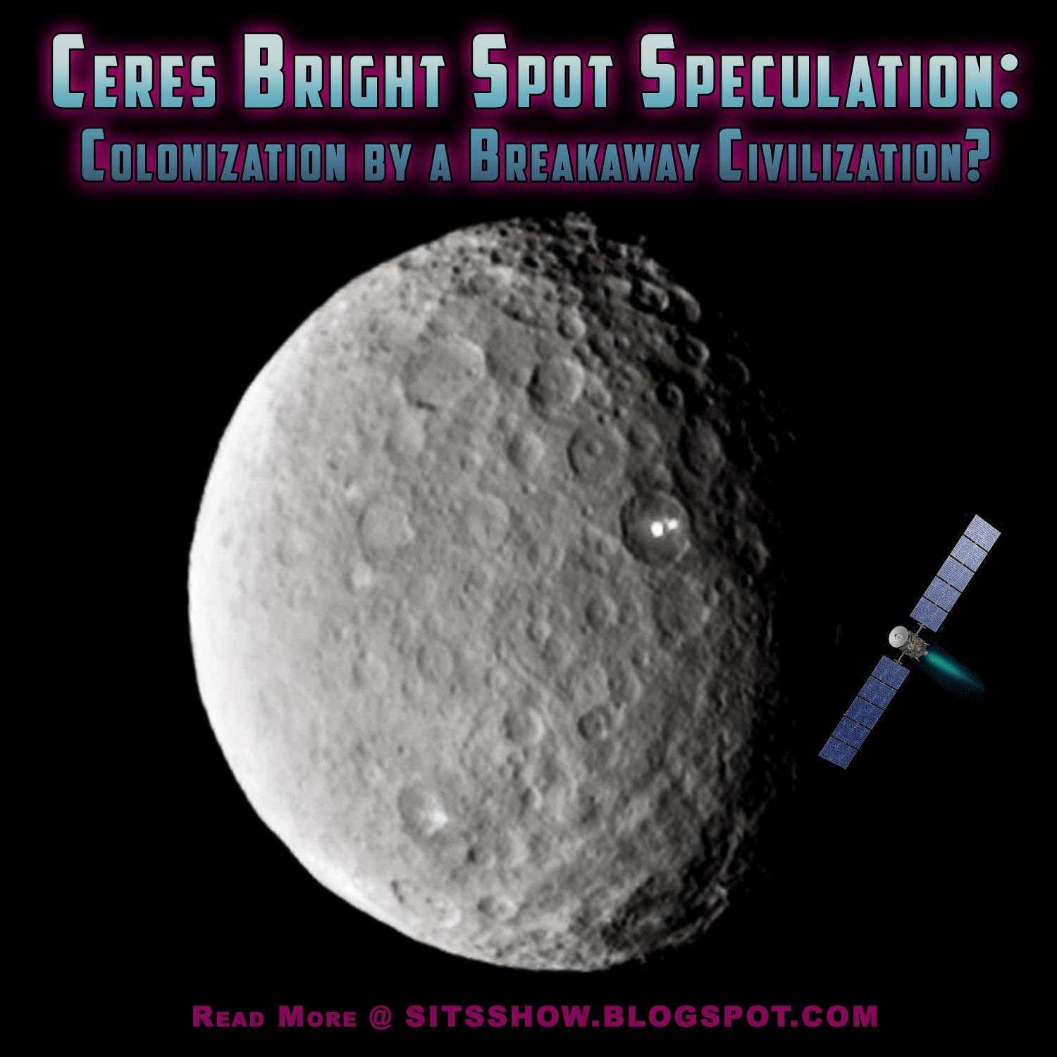 Ceres Bright Spot | Colonization of Ceres by a Breakaway Civilization?  Colonization%2Bof%2BCeres