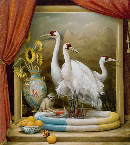 Realism Arts: Oh, By The Way...: BEAUTY: Painting--Kevin Sloan