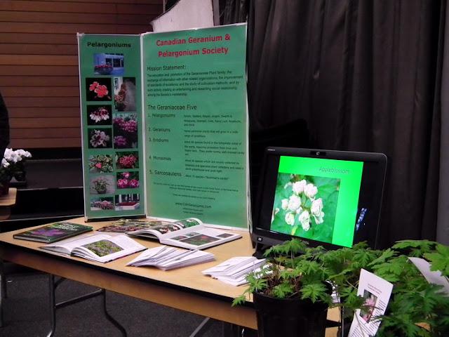 2011 Plant Sale of Canadian Geranium and Pelargonium Society