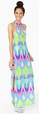 Nasty Gal Chaos Theory Maxi Dress