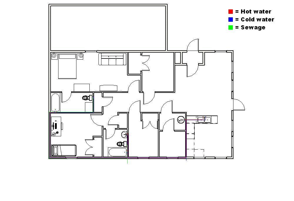 6 Cea Residential Plumbing Plan