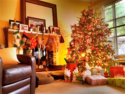 Christmas at the home of Sew Fabulous