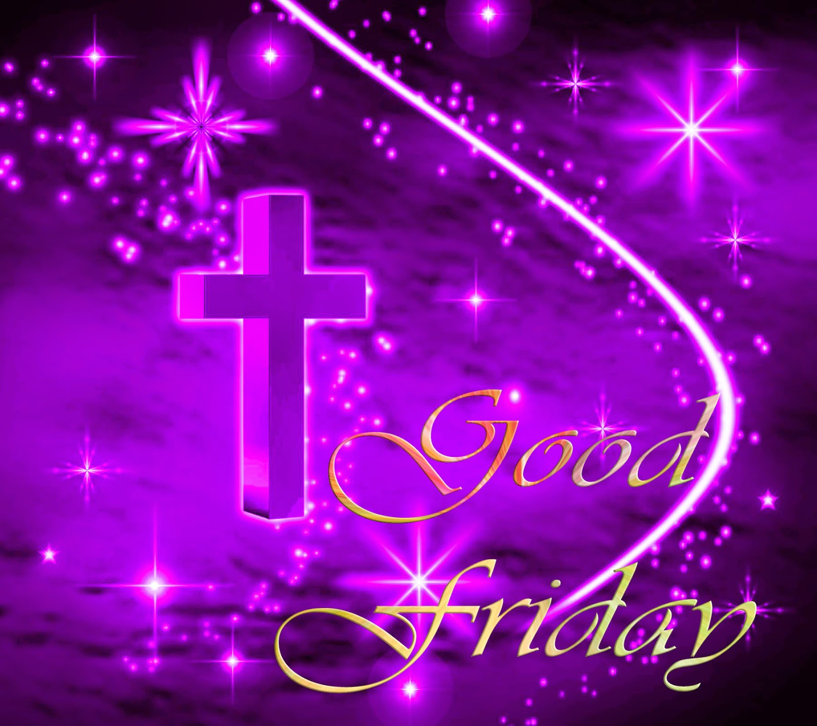 good friday pictures of purple cross