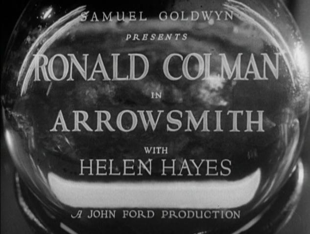 Arrowsmith (1931) Title Card