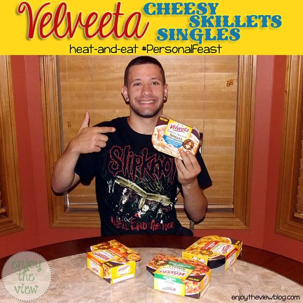 Velveeta Cheesy Skillets Singles | enjoytheviewblog.com #shop