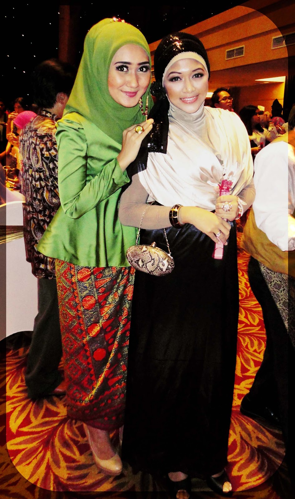 Port Of Tasya Meet Dian Pelangi At NadsLucky Wedding