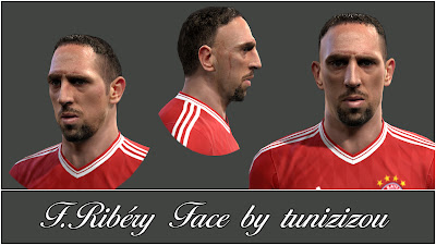 Franck Ribery Face by Tunizizou
