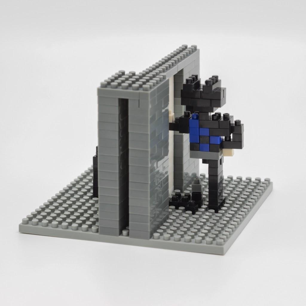 ナノブロックで作ったnanoblock-Man