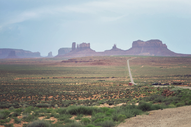 The Flying Clubhouse: U.S. Route 163 Through Monument Valley