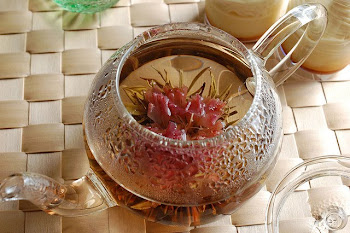 Herb tea with carnation