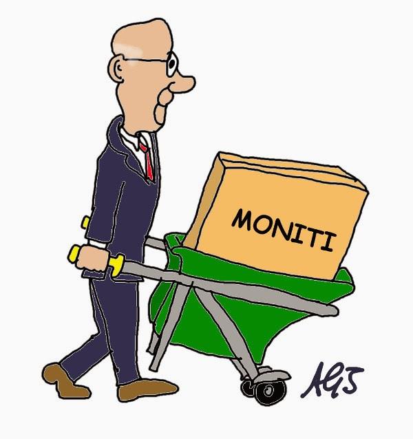 Napolitano. quirinale. trasloco, dimissioni, satira, vignetta