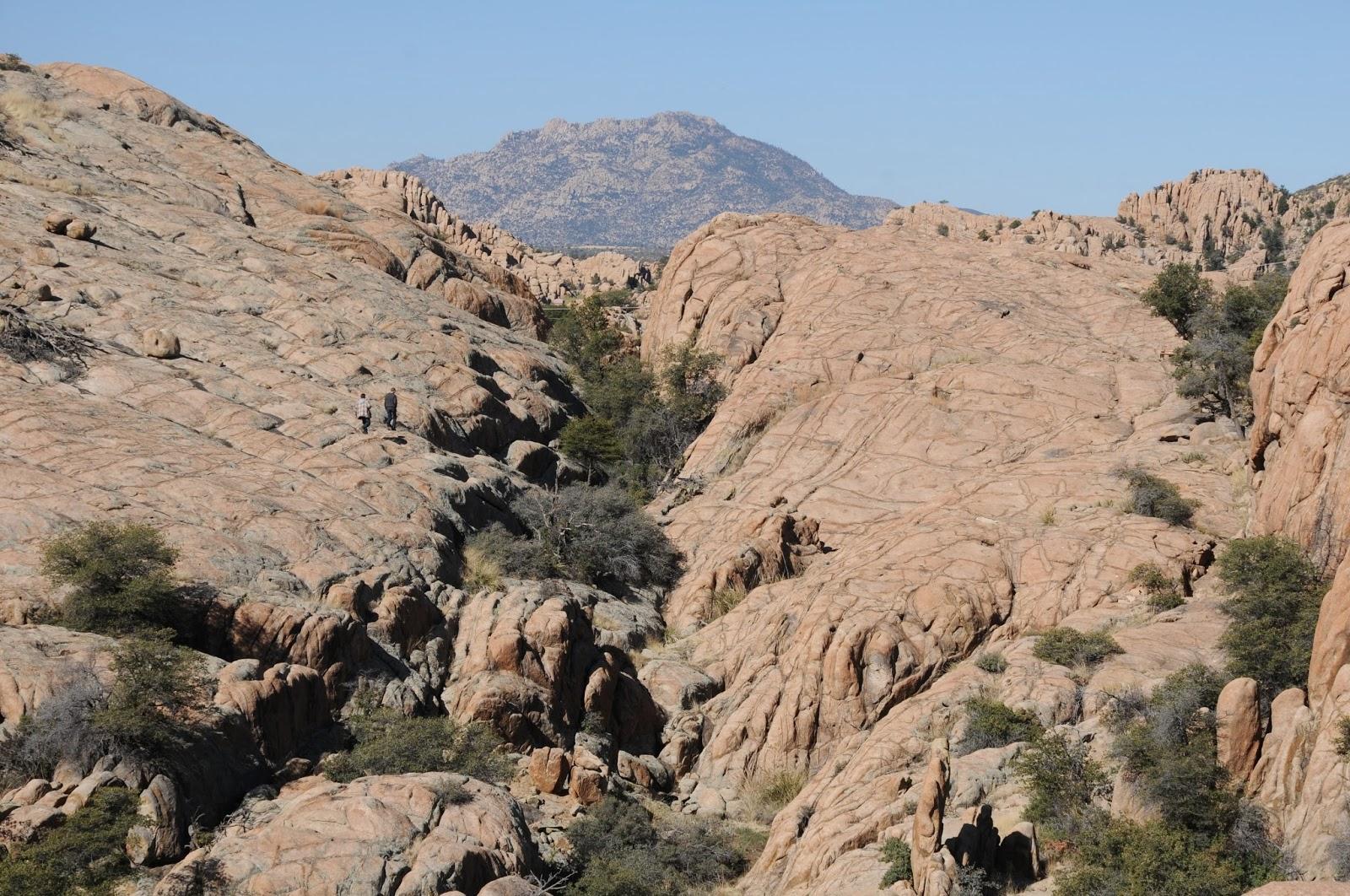 Arizona Hiking Granite Gardens Trails