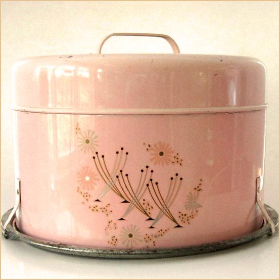 Pink Ceramic Cake Stand
