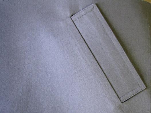 Как правильно сшить прорезные карманы с листочками 23