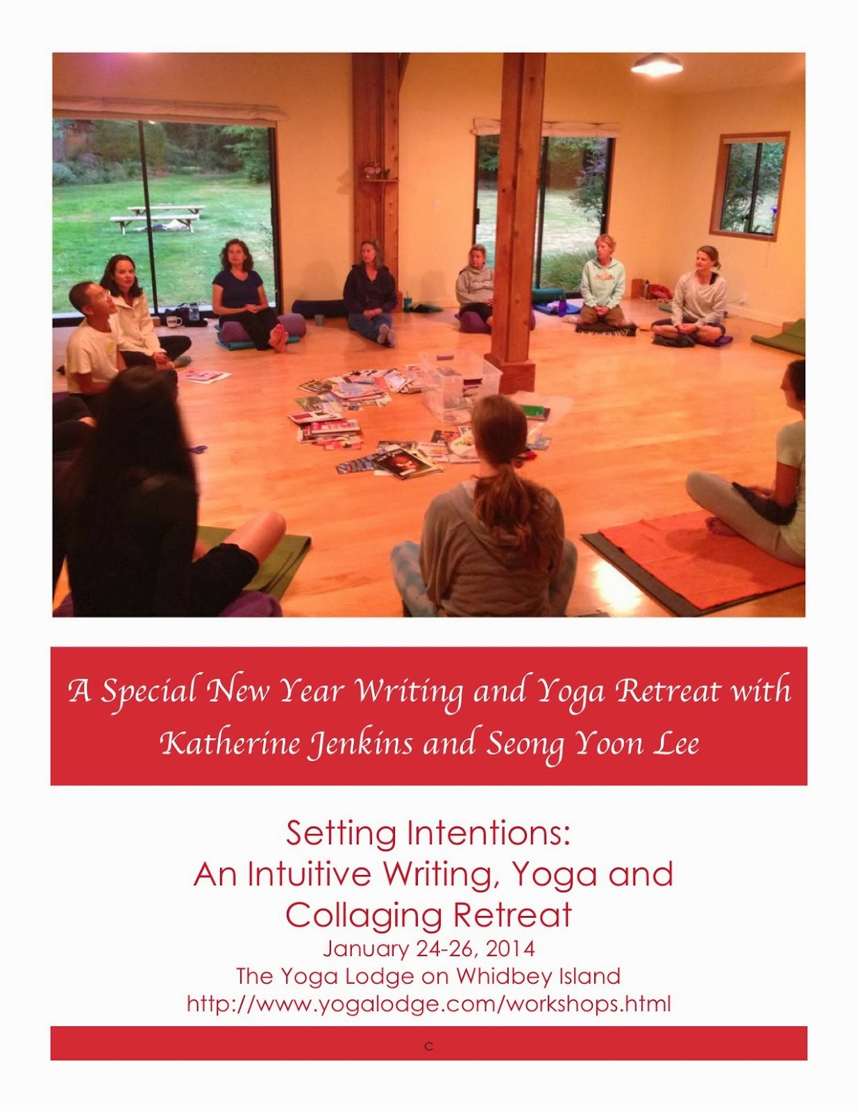 2014 YOGA AND WRITING RETREATS