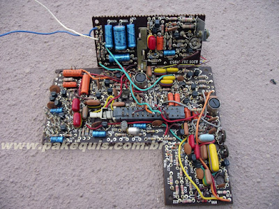 Placa principal do tape deck Philips 2572