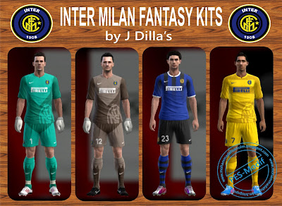 Inter Milan Fantasy Kits by J Dilla's