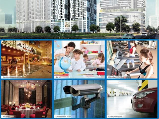 Tiện ích nổi bật ở chung cư Phú Mỹ Complex - Khu Ngoại Giao Đoàn