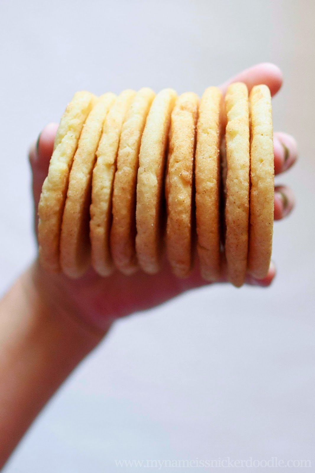 The Best Snickerdoodle Cookies EVER   My Name Is Snickerdoodle